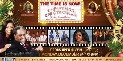 THE TIME IS NOW: A CHRISTMAS SPECTACULAR