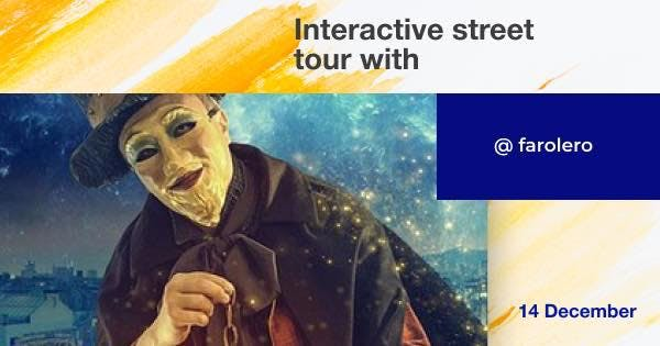 Mysterious interactive street tour around Bar