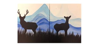 Winter Deer | Date Night! | $50