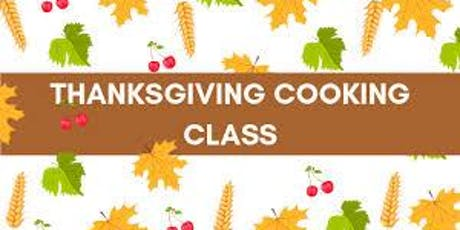 Thanksgiving Cooking Class tickets