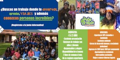 Junta informativa Campamento Peña Grande Cancún 2019
