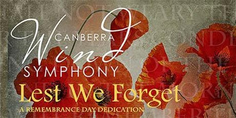 Lest We Forget, Canberra Performance, 2019 tickets