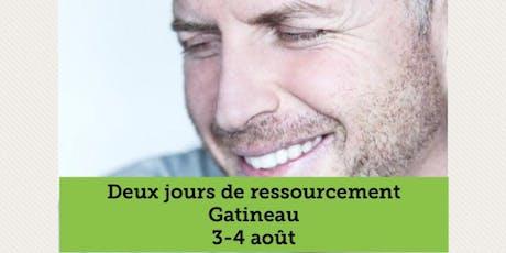 GATINEAU - Ressourcement 2 jours  tickets