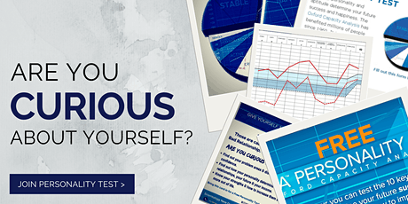 Are you Curious about yourself? Personality Test Free Meetup! tickets