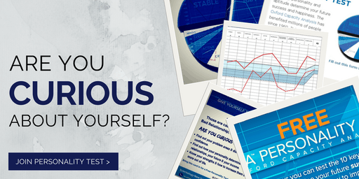 Are you Curious about yourself? Personality Test Free Meetup!