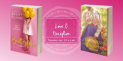 Dallas Book Club at La Madeleine: Love & Deception