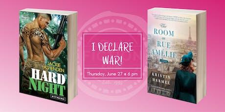 Dallas Book Club at La Madeleine: I DECLARE WAR! tickets
