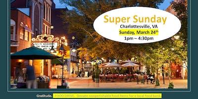 Meet Monat & Super Sunday Charlottesville
