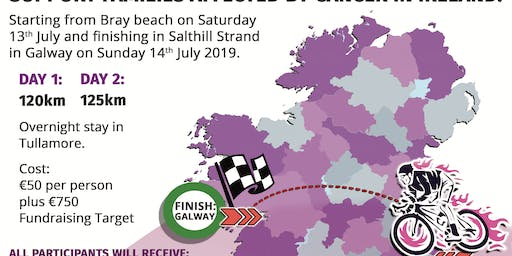 Purple House Coast 2 Coast Bray to Galway Cycle 2019