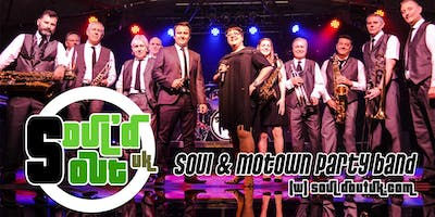 Soul'd Out UK - Soul & Motown Party Band - Friday 29th March 2019