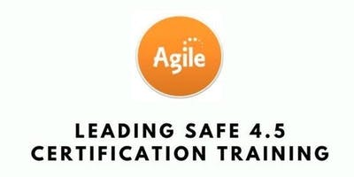 Leading SAFe 4.5 with SA Certification Training in San Jose, CA on Mar 25th-26th 2019