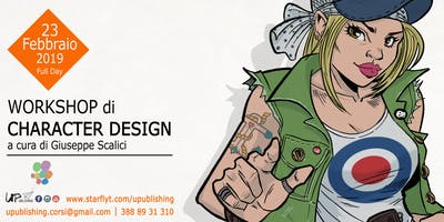 Workshop di CHARACTER DESIGN