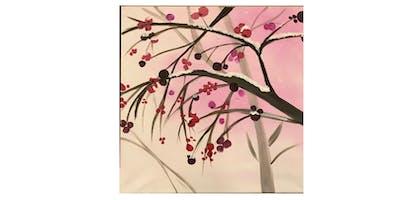 Winter Berry Tree | Paint 'n Sip | $20