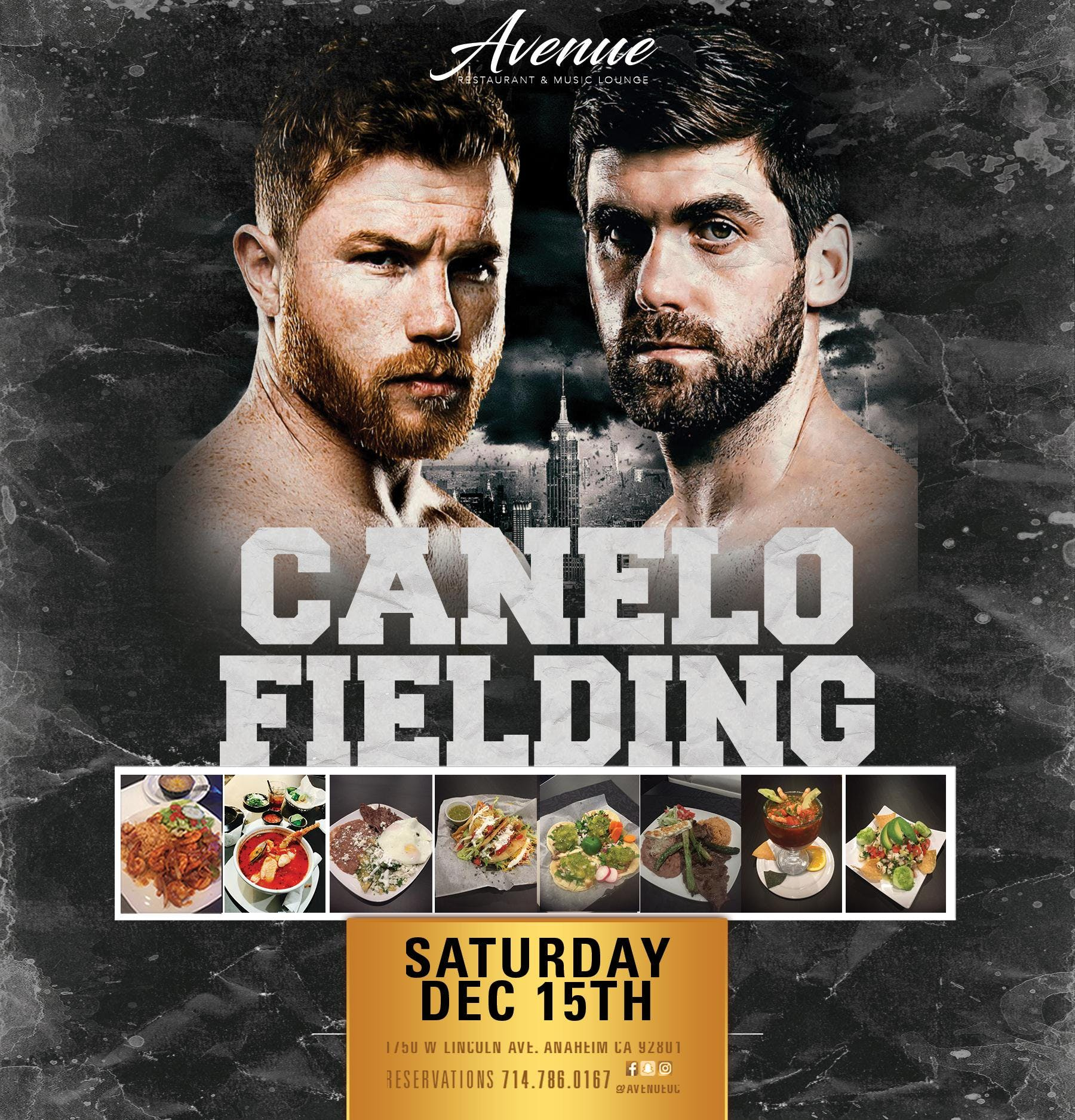 CANELO VS FIELDING VIEWING PARTY