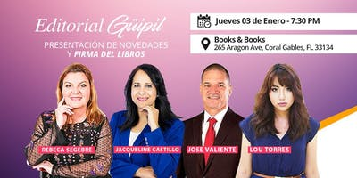 Presentación de novedades y firma de libros Editorial Guipil