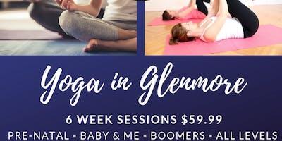Boomers Yoga Classes