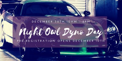December Dyno Day - Marietta - December Sunday 30 2018 10:00