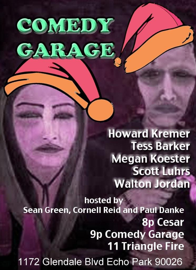 The Comedy Garage - Live Music & Comedy In Echo Park