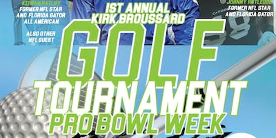 Kirk Broussard's  and NFL Friends Charity Golf Tournament Orlando, FL