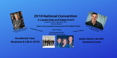 2019 National Convention (Sales and Leadership Event)