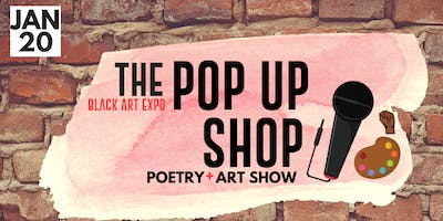 The Pop Up Shop (Poetry and Art Show)