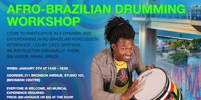 Afro-Brazilian Drumming workshop