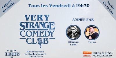 Very Strange Comedy Club #3 - Standup