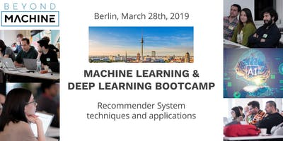 Machine Learning & Deep Learning Bootcamp: Building Recommender System on Keras