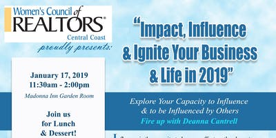 Women's Council of Realtors Central Coast Impact, Influence & Ignite