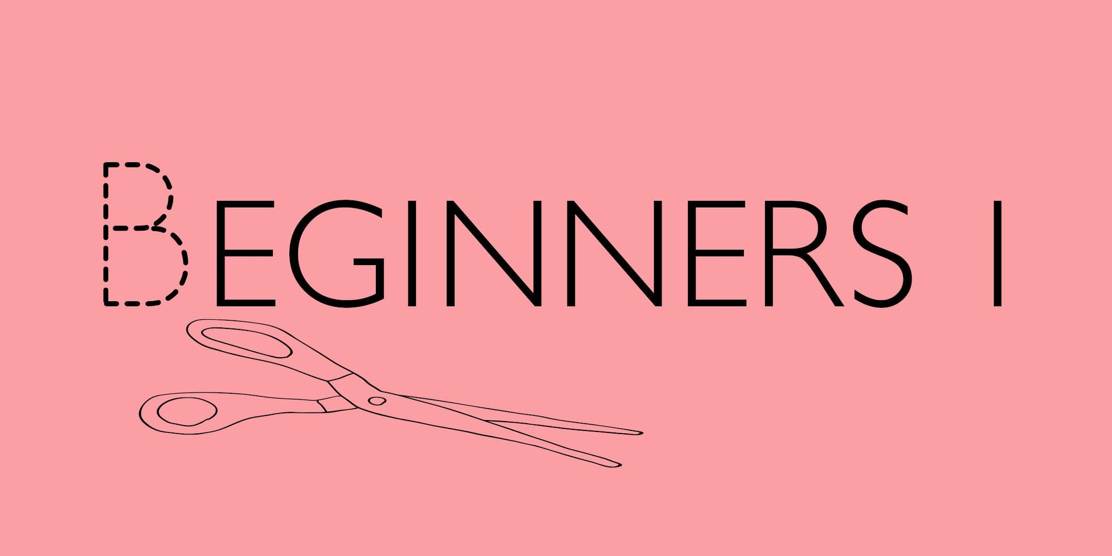 Studio Sewing Classes: Beginners 1 BOOKED OUT!!