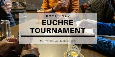 Euchre Tournament at Mr. B\