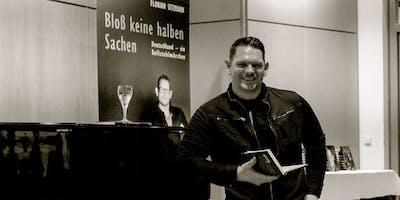 """Florian Sitzmann \""""Bloß keine halben Sachen\"""" -  Motivationsveranstaltung"""