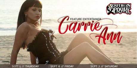 Feature Entertainer: Carrie Ann tickets