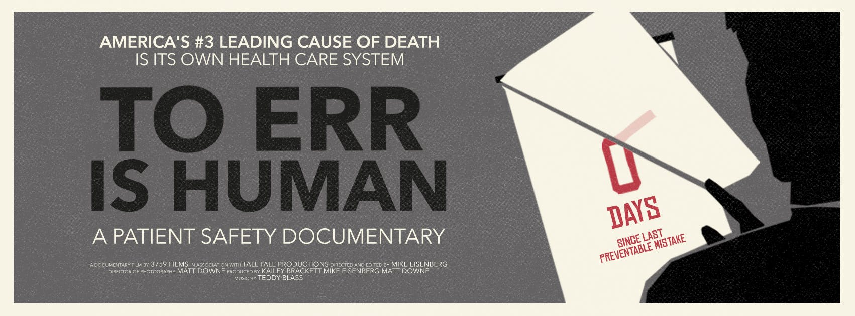 ADVANCE SCREENING: To Err is Human: a patient