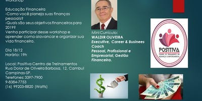 Workshop Educação Financeira