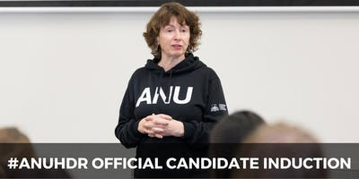 Official Research Candidate Induction to the Australian National University