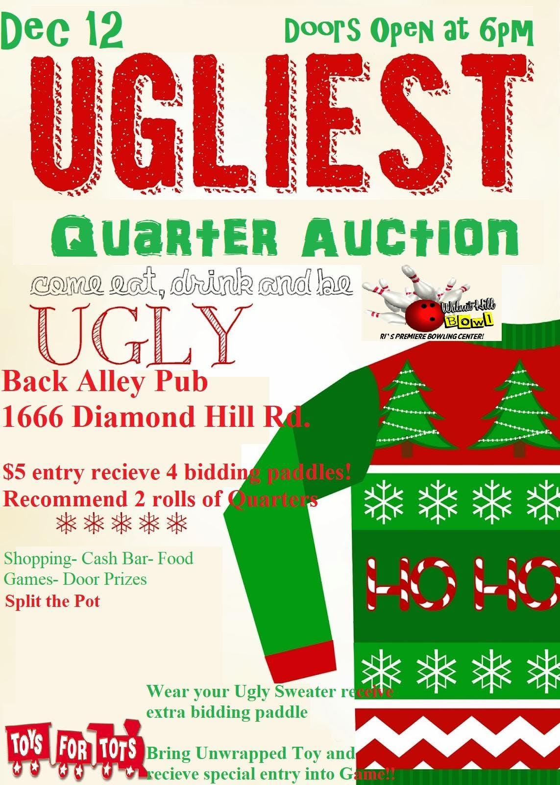 Ugly Quarter Auction