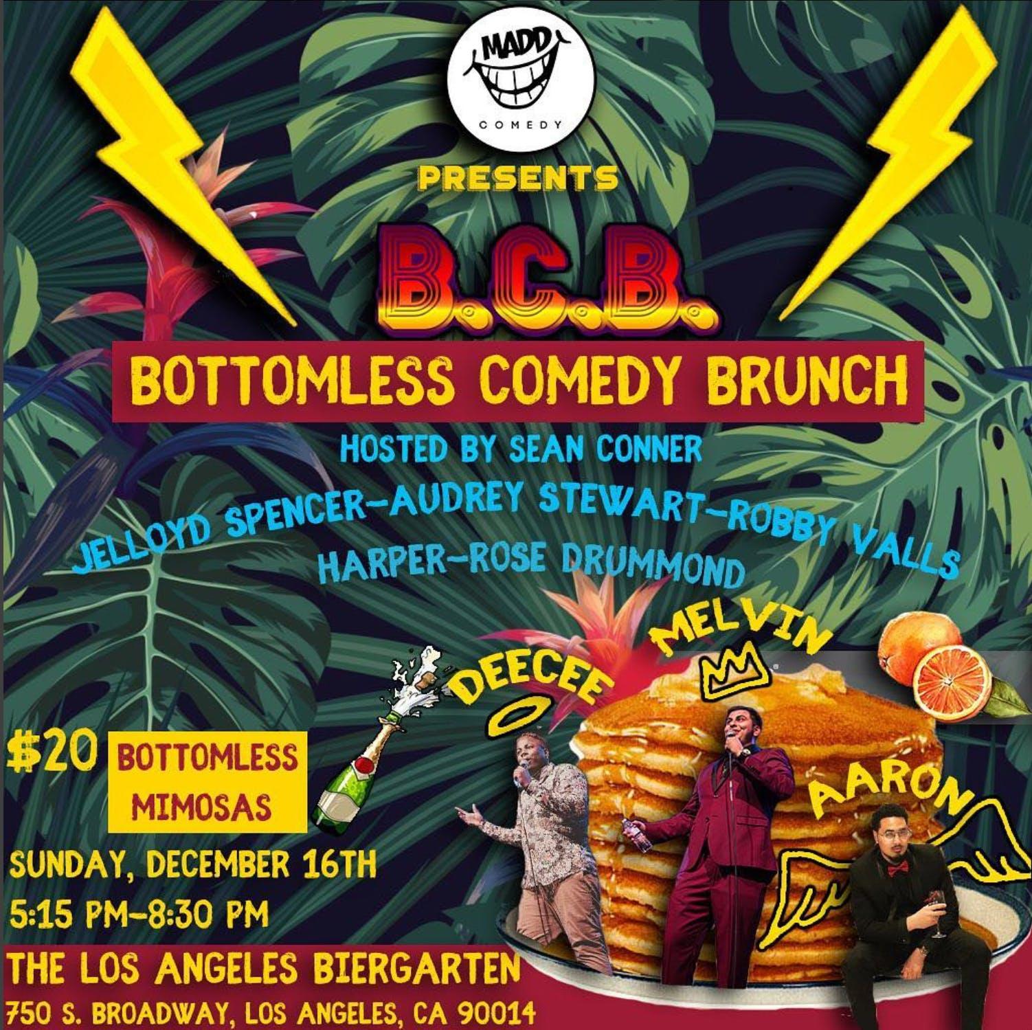 Bottomless Comedy Brunch