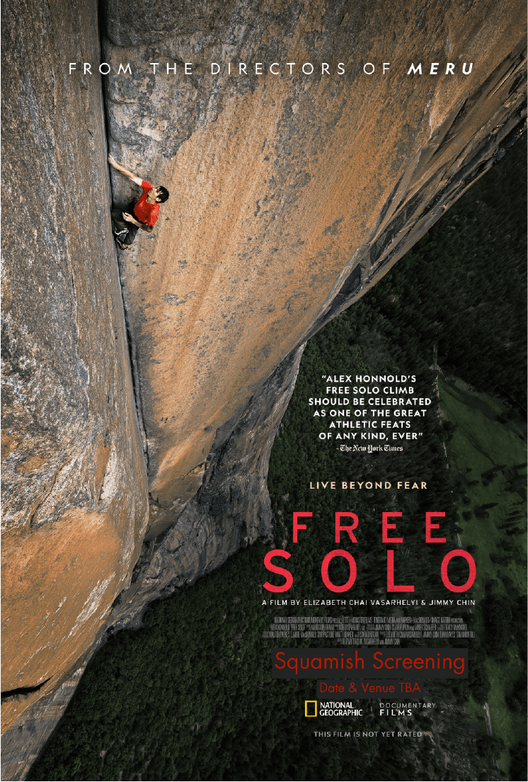 Free Solo Squamish (Sunday Screenings)