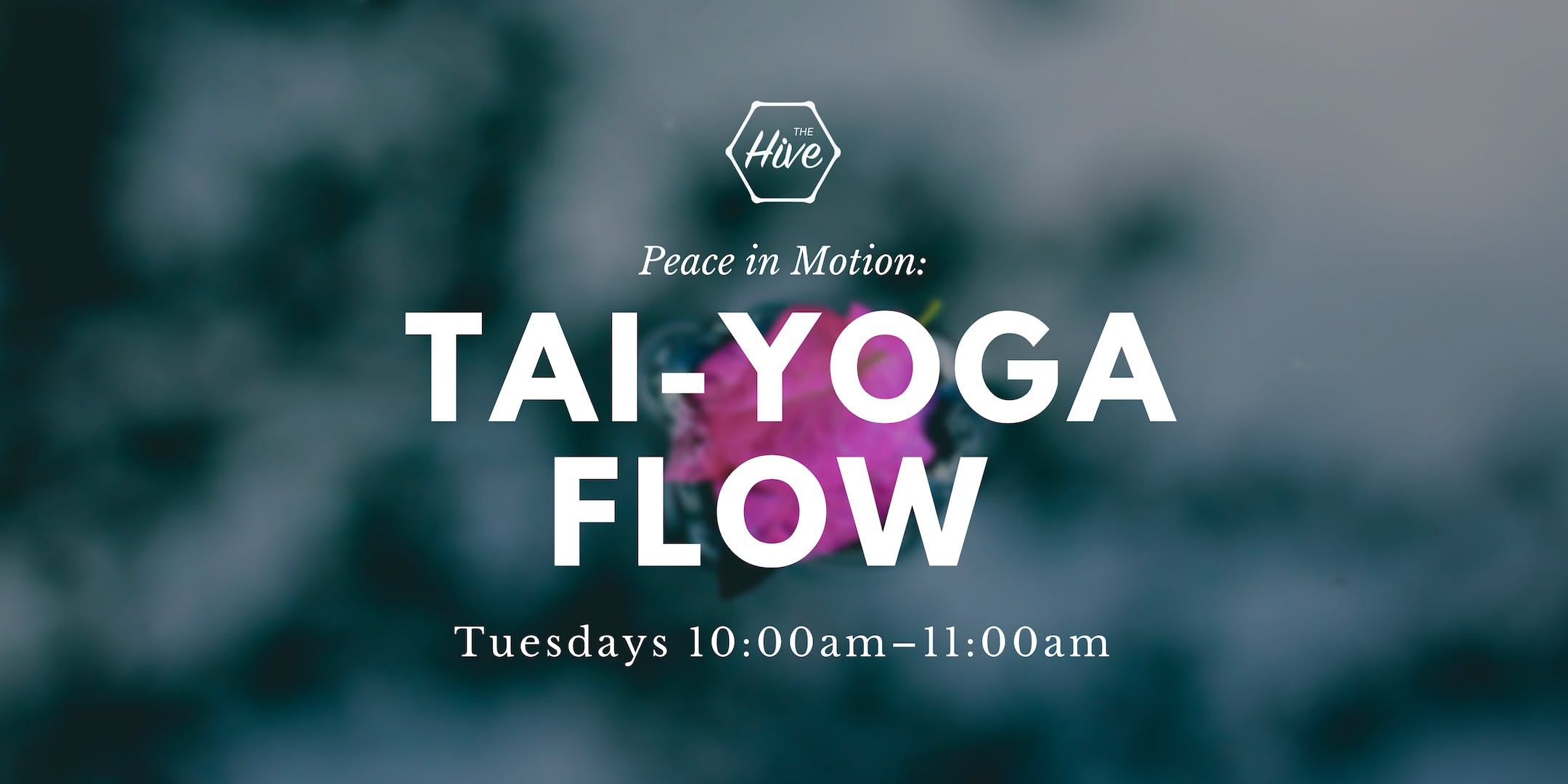 Peace in Motion: A TAI-YOGA FLOW