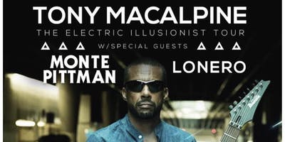 Tony MacAlpine - The Electric Illusionist Tour @ The Willow