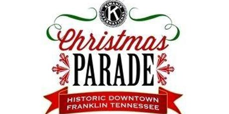 Franklin Kiwanis Christmas Parade 2019 tickets