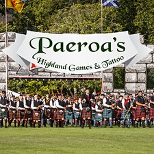 Paeroa Pipe Bands Committee logo