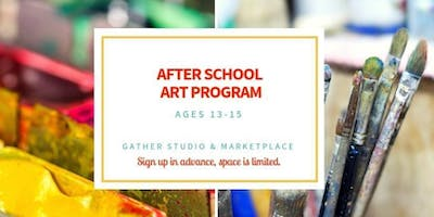 Teen After School Art Program