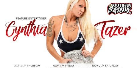 Feature Entertainer: Cynthia Tazer tickets