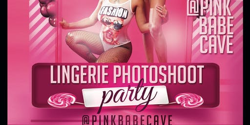 PinkCave Lingerie and photoshoot party