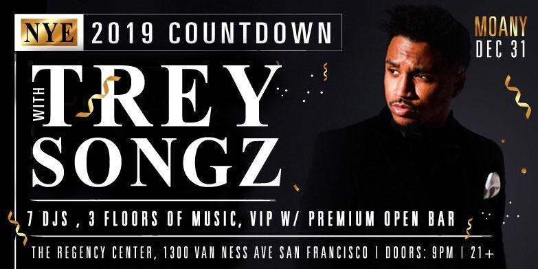 TREY SONGZ New Years Eve at the Regency Ballr