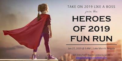 HEROES OF 2019   Fun Run 5K(ish)