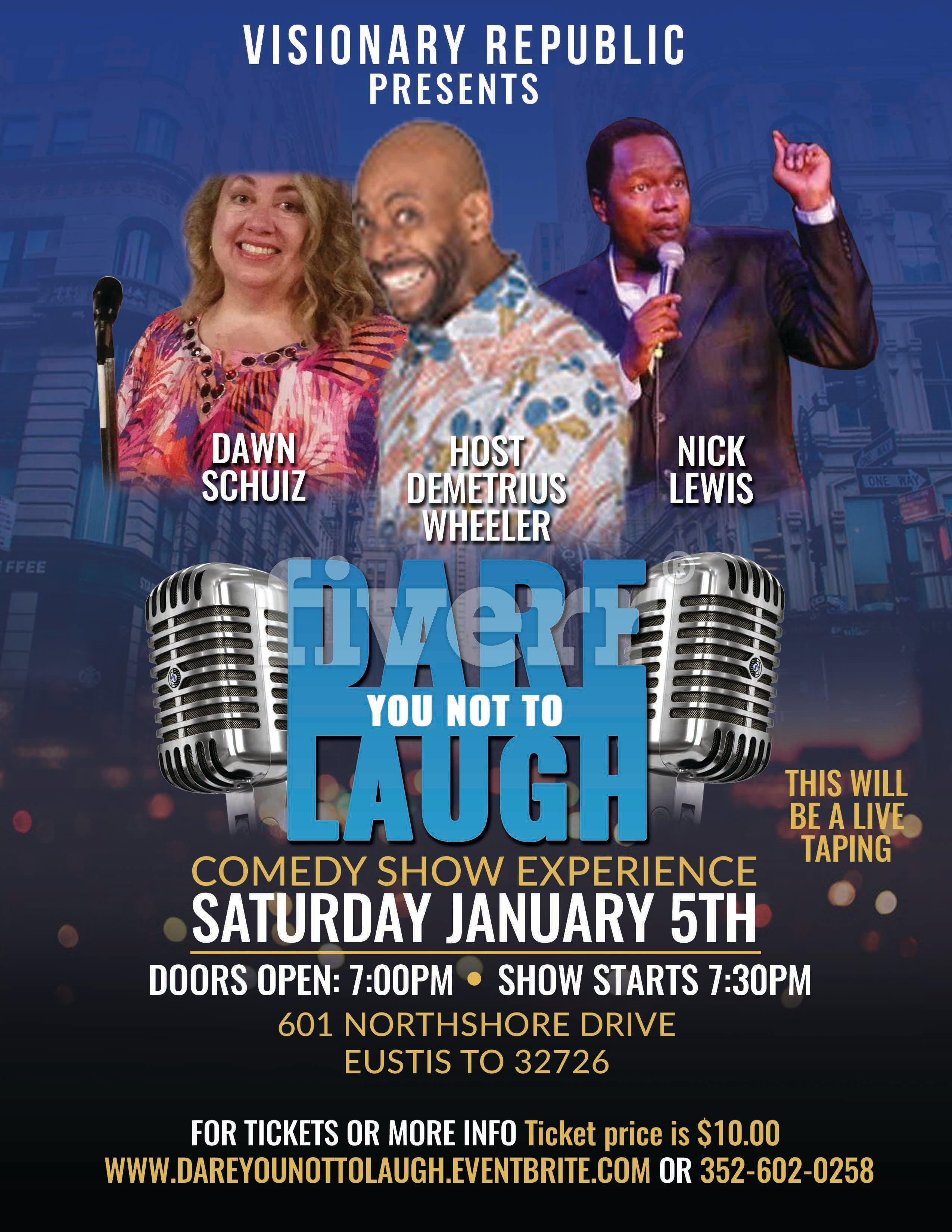 DARE YOU NOT TO LAUGH CLEAN COMEDY SHOW