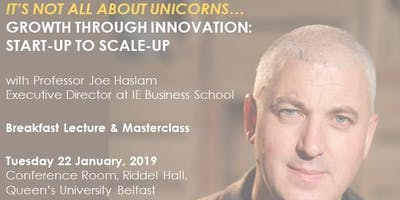 It's not all about unicorns...Growth through innovation: Start-up to Scale-up